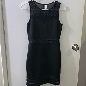 black dress from h&m
